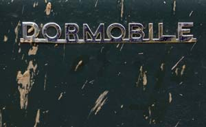 Land Rover Dormobile badge