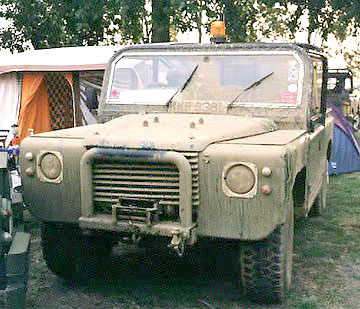 Land Rover with Jag. V12 engine