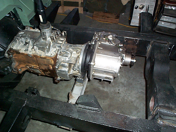 NV4500 gearbox, LT230 transfer case in Land Rover