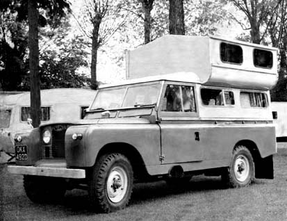 Park-Ranger caravan conversion