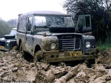 Land Rover 109 in the Netherlands