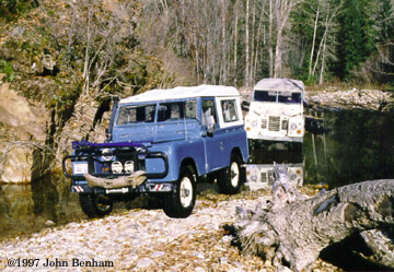 Two Land Rover