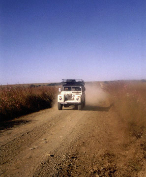 Land Rover in South Africa