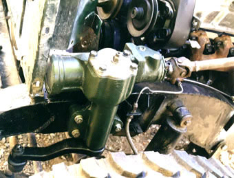 The Green Rover new steering box