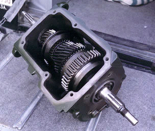 T-18 gearbox for Land Rover