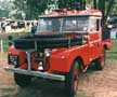 Series 1 Land Rover fire truck