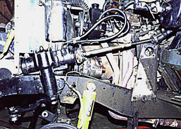 Land Rover power steering box
