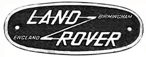 Land Rover series I logo
