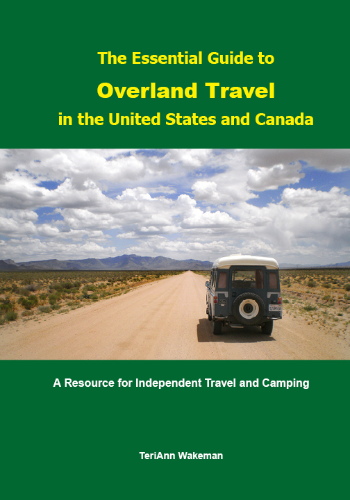 Essentual Guide to Overland travel book cover