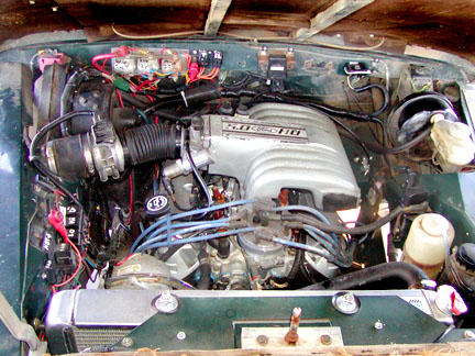 302 EFI in a Series Land Rover